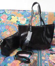 4ec092a5ad Sac porté épaule à main noirs en faux cuir pour femme | Achetez sur eBay