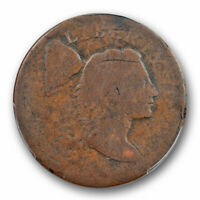 1795 1C Plain Edge Liberty Cap Large Cent PCGS FR 02 Low Grade