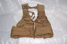 USGI MOLLE II LOAD BEARING VEST FIGHTING LOAD CARRIER FLC LBV TACTICAL COYOTE