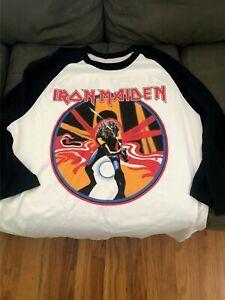 Iron Maiden - Maiden Japan 1982 Raglan Beast on the Road World Tour,  M to 2XL