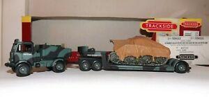CORGI TRACKSIDE DG123002 BRITISH ARMY AEC MAMMOTH TRACTOR AND TANK TRAILER 4MM
