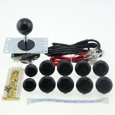 Arcade DIY Kit USB Encoder To PC Joystick + Sanwa Push Buttons + Sanwa Joystick