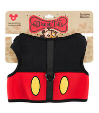 Disney Parks Mickey Mouse Costume Dog Harness Medium NEW