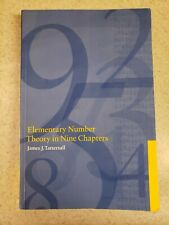 Elementary Number Theory in Nine Chapters by Tattersall, James J.