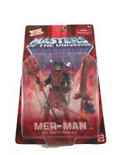 He-Man 200x 2002 Mer-Man Complete NIB 100%