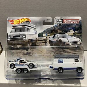 Hot Wheels Team Transport Ford RS200 Rally Van 33 NEW SEALED UNOPPOSED VHFT