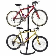 2 Bike Free Standing Rack Stand - Can Also Be Mounted On The Wall By Racor