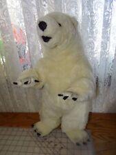 "Ganz Polar Bear Heritage Collection Endangered Species Sierra Club 24"" White Tag"