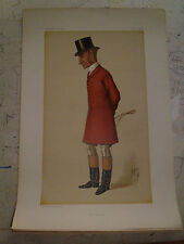 ORIGINAL VANITY FAIR PRINT THE QUORN FOX HUNTING FREE POST