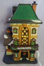 "O'Well Christmas Village Lighted House ""Daily Gazette"" Ceramic Porcelain Works"