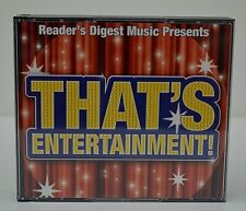 READERS DIGEST!  THAT'S ENTERTAINMENT - 5 CD SET - UNUSED CONDITION!!