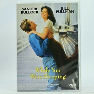 While You Were Sleeping Sandra Bullock Romance Comedy DVD GC Free Tracked Post