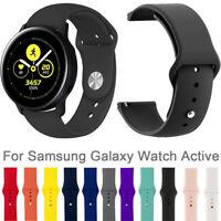 Uhrenarmband Silikonarmband Schnellverschluss für Samsung Galaxy Watch Active 2