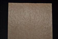 Birdseye Maple Raw Wood Veneer Sheet 10.5 x 35 inches 1/42nd thick J7622-4