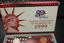 50 States Quarters /  United States Mint Silver Proof Set 2004