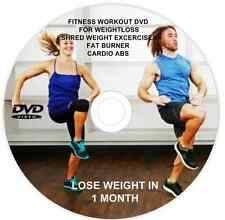 KEEP FIT DVD FITNESS WEIGHTLOSS EXERCISE FAT BURNER CARDIO WORKOUT ABS 028