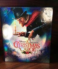Disneys A Christmas Carol(3D+Blu-ray/DVD+Digital,4-Disc Set)Giftset-NEW-Free S&H