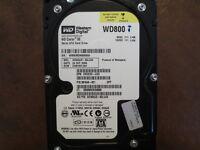 """Western Digital WD800JD-60LUA0 DCM:DSBHNTJAH 80gb 3.5"""" Sata Hard Drive"""