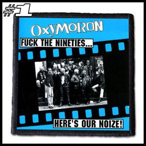 OXYMORON --- Patch / Aufnäher --- Various Designs