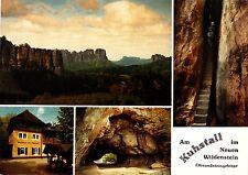 Am Kuhstall im Neuen Wildenstein , Ansichtskarte , ungelaufen