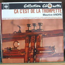 MAURICE ANDRE CA C'EST DE LA TROMPETTE FRENCH LP CBS COLLECTION CHOUETTE