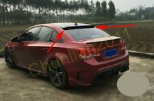 Rear Roof Factory Style Spoiler Wing for 09-15 Chevrolet Chevy Cruze Sedan ABS