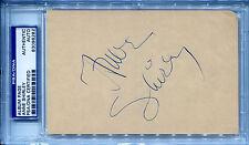 ANNE of Green Gables SHIRLEY Vintage Signed Slabbed Album Page + Photo PSA/DNA