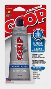 Amazing Goop Clear Marine Adhesive & Sealant 3.7 oz. Paintable Waterproof 170011