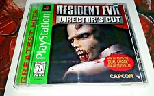 PS1 Resident Evil Director's Cut Greatest Hits Sony PlayStation 1,1998 SEALED