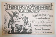 BUVARD ENCRE J. GARDOT - Dijon, imprimeur MOULLOT Marseille