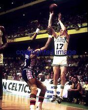 """John """"Hondo"""" Havlicek 1962-78 Boston Celtics 1984 HOF'er vs Dr. J   Color 8x10 A"""