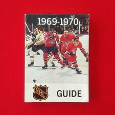 NHL Guide -1969-70 - Official Media Guide Book - NHL - Vintage - RARE