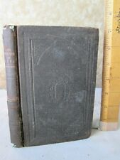 PROBLEM Of LIFE Or RELIGION & SOCIETY IN GERMANY,1858,Henry W.Carstens,1st Ed