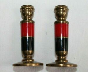 Pair of small brass Candlesticks