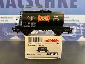 """Märklin 4441.099  Kesselwagen """"Faxe"""" Sondermodell, Spur H0"""
