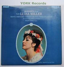 SB 6780 - VERDI - Luisa Miller Highlights - Excellent Condition LP Record