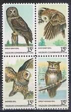 America / USA postfris 1978 MNH 1358-1361 - Vogels Uilen / Birds Owl