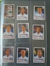 PANINI STICKERS FULL SET UNITED STATES WOMEN'S CANADA 2015 MORGAN RAPINOE SOLO