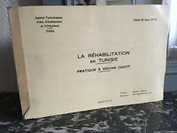 Estudio Instituto Arquitectura La Rehabilitación En Tusisie De Douar Schott 1979
