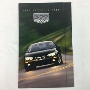 1999 Chrysler 300M Sales Brochure