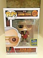 STAN LEE IRON MAN CAMEO SDCC 2020 CONVENTION EXCLUSIVE FUNKO POP MARVEL #656