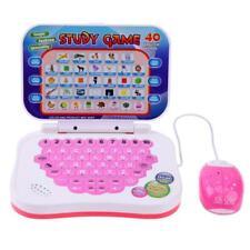 Domybest Zweisprachige frühe pädagogische Lernmaschine Kinder Laptop Spielz