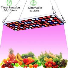 JCBritw LED Grow Light Plant Growing Lamp for Indoor Plants Full Spectrum UV IR