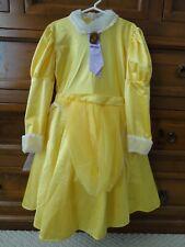 Rare Disneyland Girl's Tarzan's Jane Porter Yellow Dress Costume Sz M 6X - 8