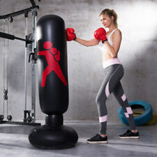 Boxing Punching Bag Inflatable Tumbler Kids Adult Home Fitness Sandbags