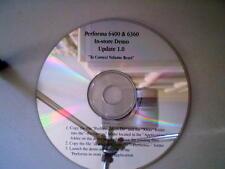 Apple Performa 6400 & 6360 In-Store Demo CD - APPLE MISPRINT