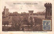 B76220 Craiova Parcul Bibescu si Podul Suspendat TCV    dolj romania