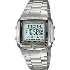 Japan  CASIO Digital Watch Stainless Silver DB-360-1AJF DATA BANK Men's F/S