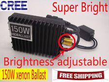 150W xenon Bulb Lamp Light Brightness adjustnent HID Conversion Kit White 6000K