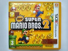New Super Mario Bros. 2 3DS EU Excellent Condition Hervorragender Zustand
